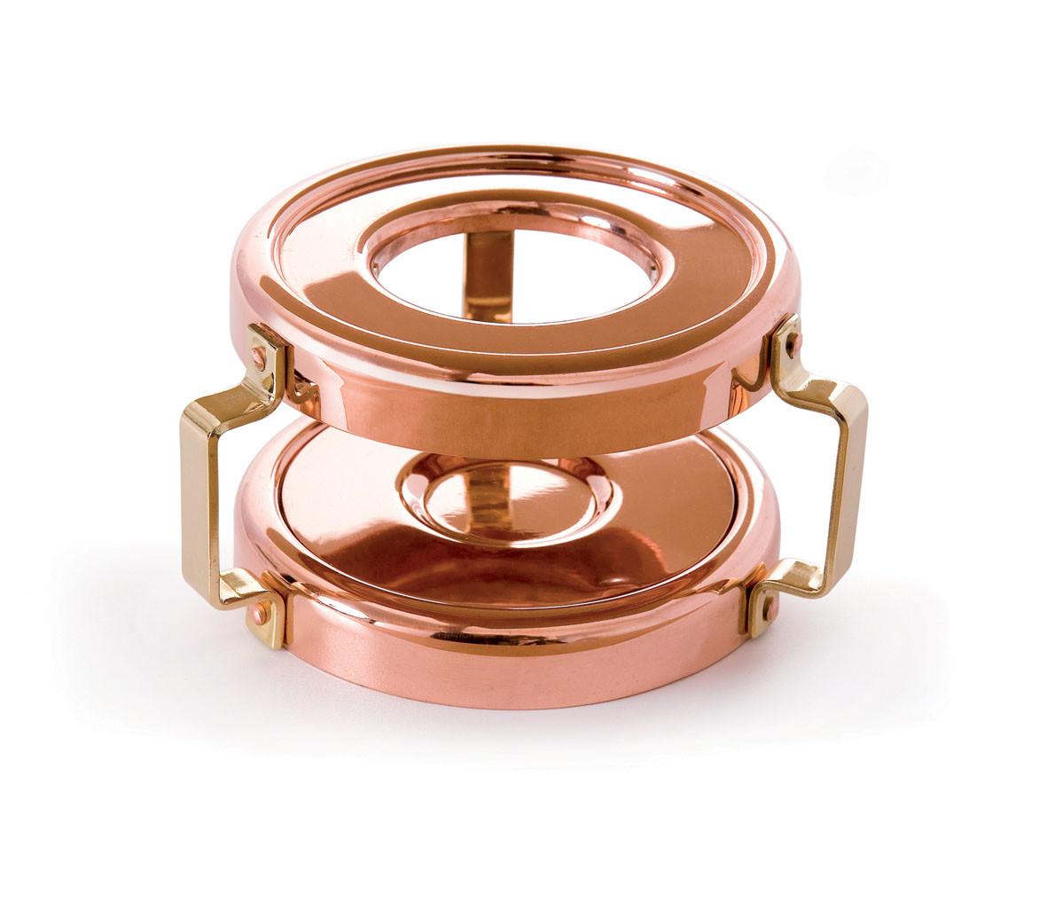 Mauviel Mini Copper Heater w/Candle