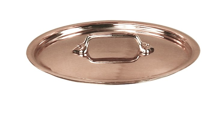 Mauviel Tin lined Lid - Bronze Handle