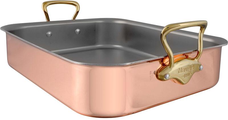 Mauviel Rectangular Roasting Pan