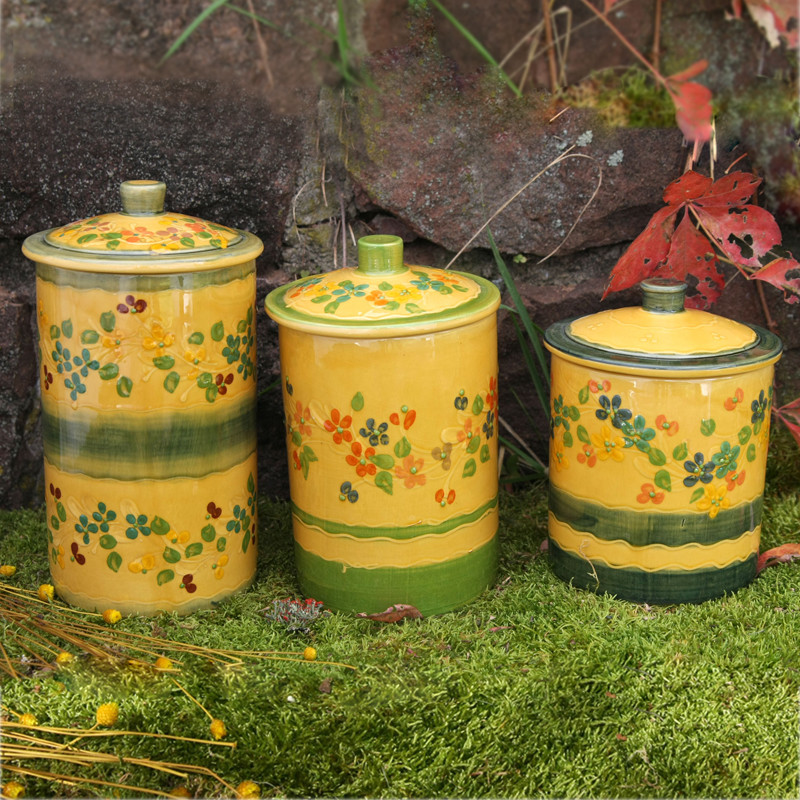 Terre e Provence Canister - Set of All Three Sizes