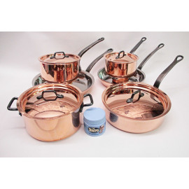 Bourgeat 10pc. Copper Set