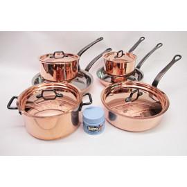 Matfer-Bourgeat 10pc. Copper Set