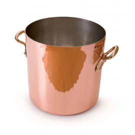Mauviel M'tradition - Stockpot hand hammered tin lined