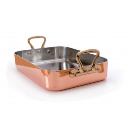 Mauviel Rectangular Roasting Pan - Tin Lined