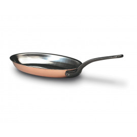 Bourgeat Oval Frying Pan - 14.25""