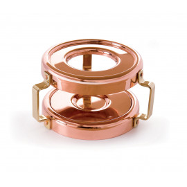 Mauviel Mini Copper Heater w/Candle