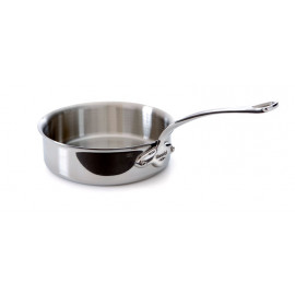 M'cook Saute pan 5 ply Cast Iron Handle