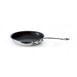5 Ply S.S. Frying Pan - non stick - s.s. handle