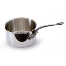 "M'cook Saucepan 8"" 5 ply Cast Iron Handle"