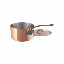 Mauviel M'150c2- Sauce Pan & lid - Stainless Steel Lined Cast Iron Handle  - 5.5""