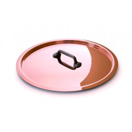 Mauviel Copper Lid Stainless steel lining and Cast Iron Handle