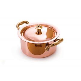 """Mauviel Mini Copper Cocotte w/Lid - 3.5"""""""