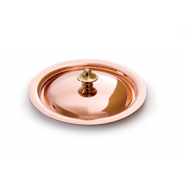 Mauviel Mini Copper Lid for Small Sauce Pan - 3.5""