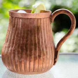 Moscow Mule Mug - Solid Copper - Hand Made Mug-2