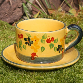 Terre e Provence Breakfast Cup & Saucer