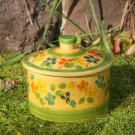 Terre e Provence Sugar Pot with Lid